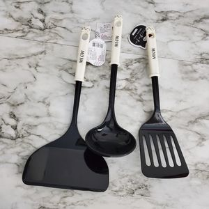 Daiso MEOW Spatula and Ladle Set of 3